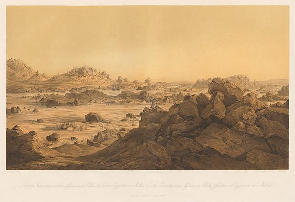 Karol Ľudovít Libay – Prvý Katarakt medzi Asuánom a Philae na hranici Egyptu a Núbie
