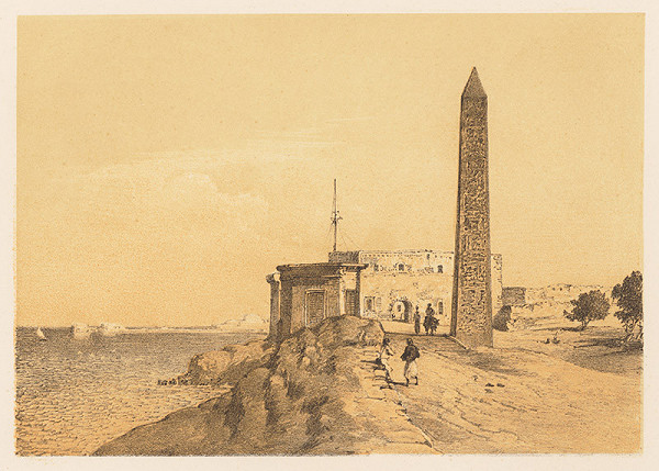 Karol Ľudovít Libay – Obelisk Kleopatrina ihla v Alexandrii