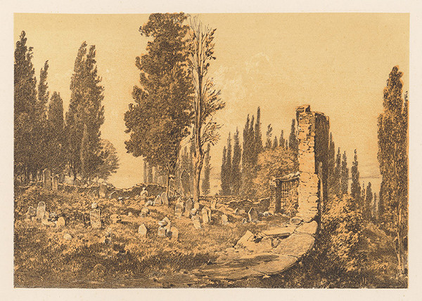 Karol Ľudovít Libay – Turecký cintorín v Smyrne