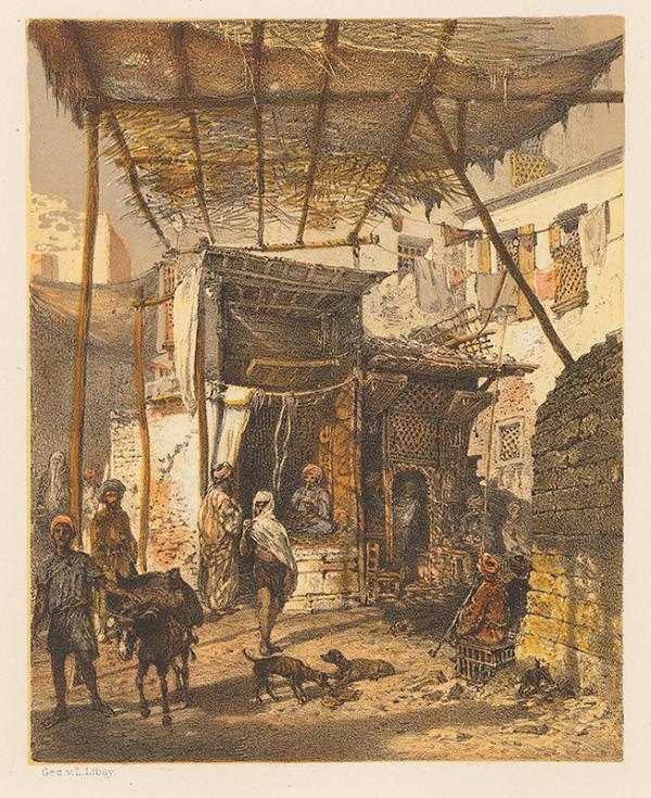 Karol Ľudovít Libay – Obuvníctvo a holičstvo v Káhire