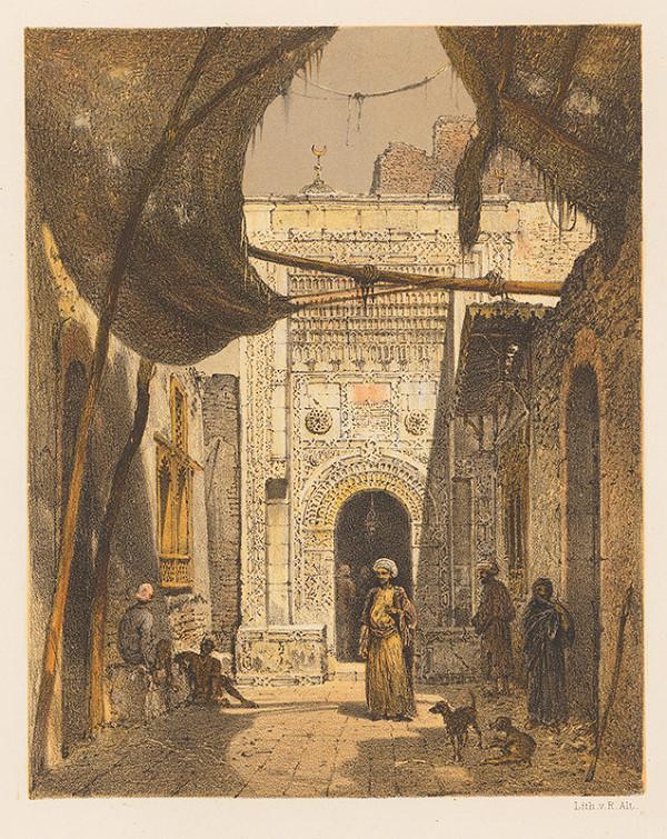 Karol Ľudovít Libay – Vstup do Mešity v Tantah