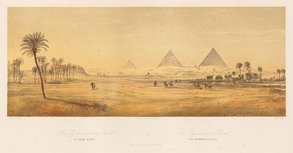 Karol Ľudovít Libay – Pyramídy v Gíze