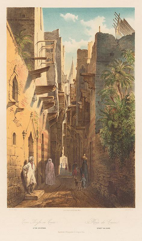 Karol Ľudovít Libay – Ulica v Káhire