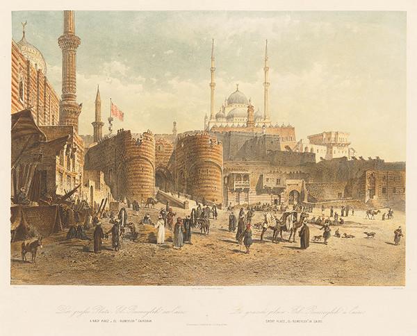 Karol Ľudovít Libay – Veľké námestie El-Rumeyleh v Káhire