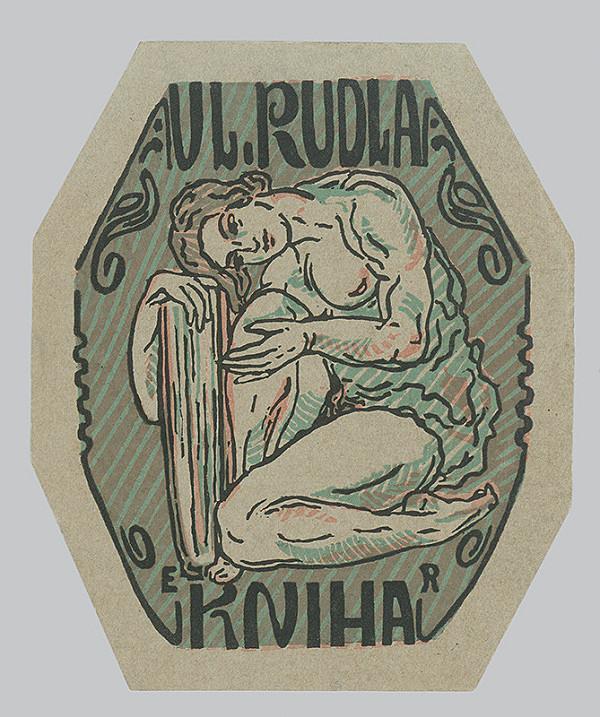 Eckerhard Reuter – Ex Libris Vl.Rudla
