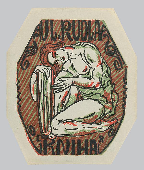 Eckerhard Reuter – Ex libris V.Rudlu