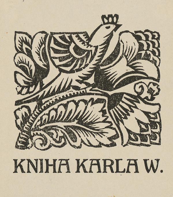 Ferdiš Duša - Ex libris Karla W.