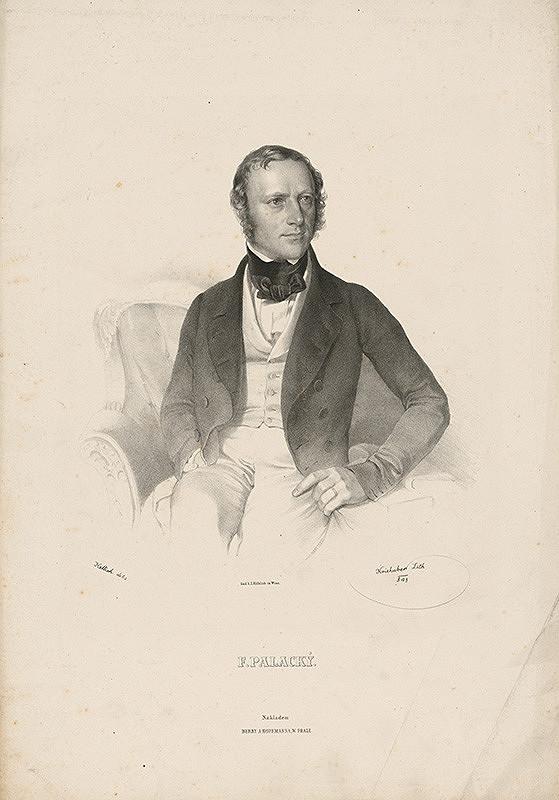 Joseph Kriehuber, Josef Vojtěch Hellich, Jozef Kreihuber – František Palacký