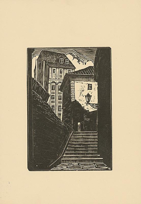Tadeusz Cieslewski - Kamenné schody