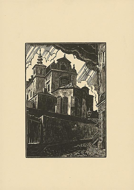 Tadeusz Cieslewski - Kostol Sv. Anny