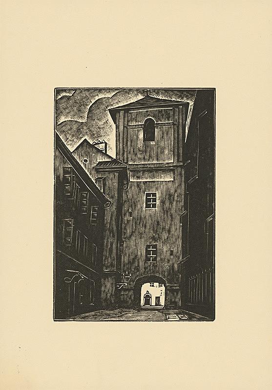Tadeusz Cieslewski – Ulica Kanonja