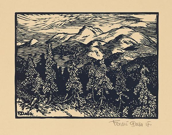 Ferdiš Duša – V lesnatých Karpatoch