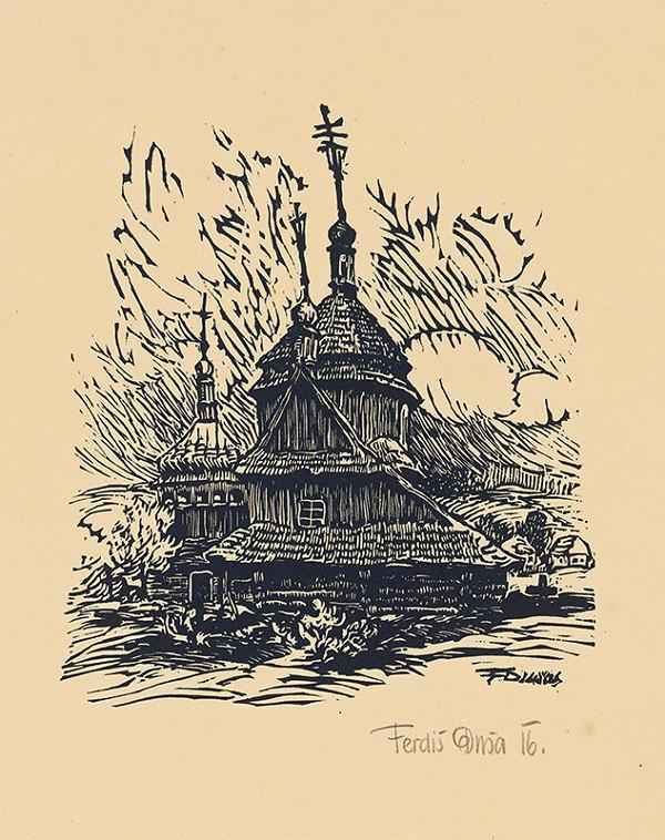 Ferdiš Duša - Cerkva v Bruszte
