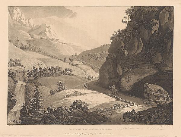 Jean-François Albanis de Beaumont, Cornelis Apostool – Vrchol Brennerovho štítu