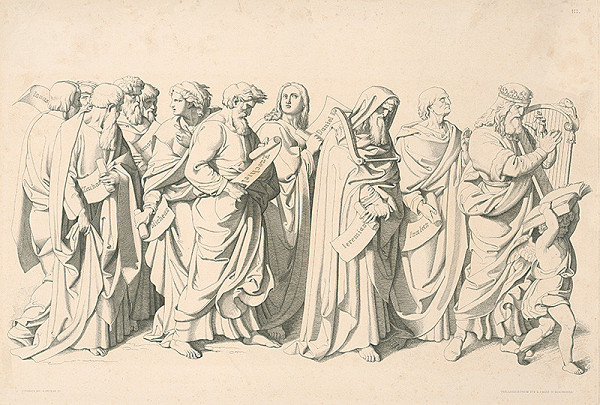 Joseph von Führich, Alois Petrák - Prorokovia