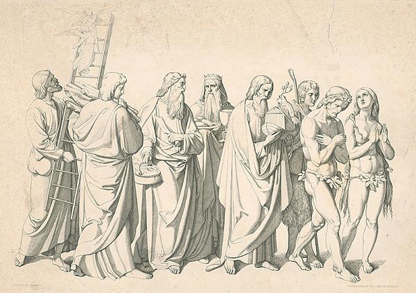 Alois Petrák, Joseph von Führich - Prví ľudia
