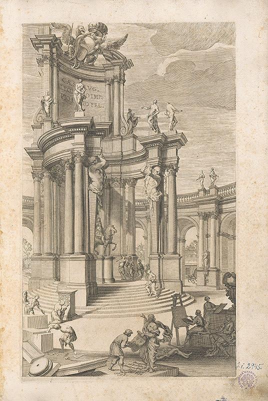 Vincenzo Mariotti, Andrea Puted, Andrea Pozzo – Pohľad na antickú architektúru