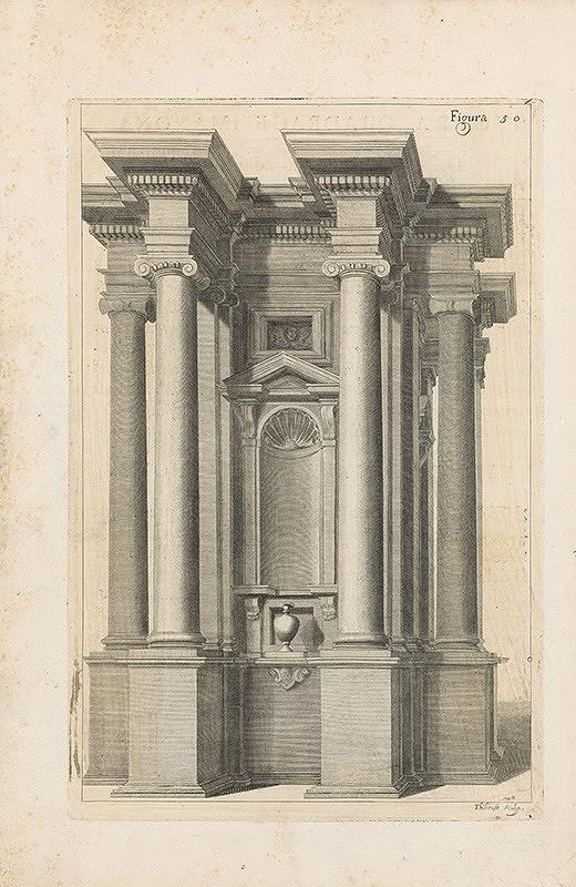 Vincenzo Mariotti, Andrea Puted, Andrea Pozzo, Neznámy grafik – Figura quinquagesima