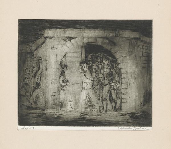 Géza Szóbel - Vo väzení