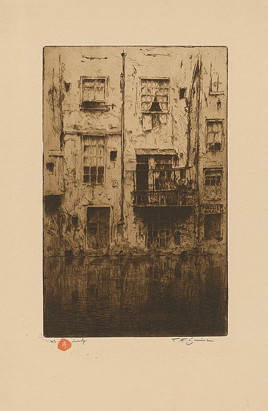 František Tavík Šimon – Domy v Amsterdame
