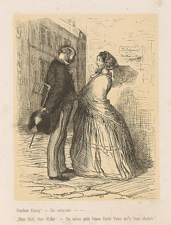 Josef Mánes – Slečna Fanny a pan Müller