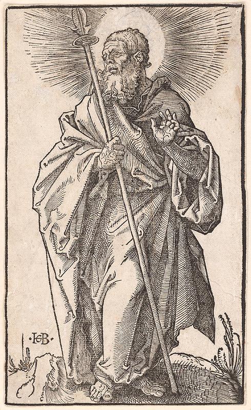 Hans Baldung, Hans Sebald Beham - Svätý Tomáš