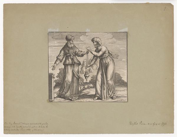 Claude Augustin Duflos – Výjav zo starého zákona