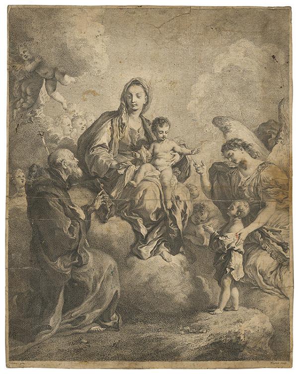 Joseph Wagner, Francesco Solimena – Madona