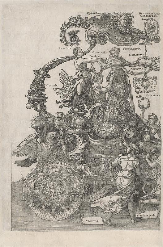 Albrecht Dürer – Triumfálny voz cisára Maximiliána