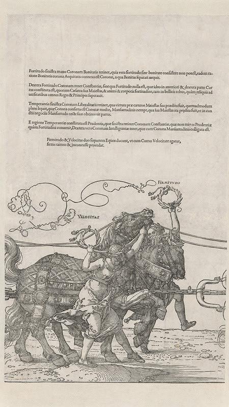 Albrecht Dürer - Bystrosť a neohrozenosť