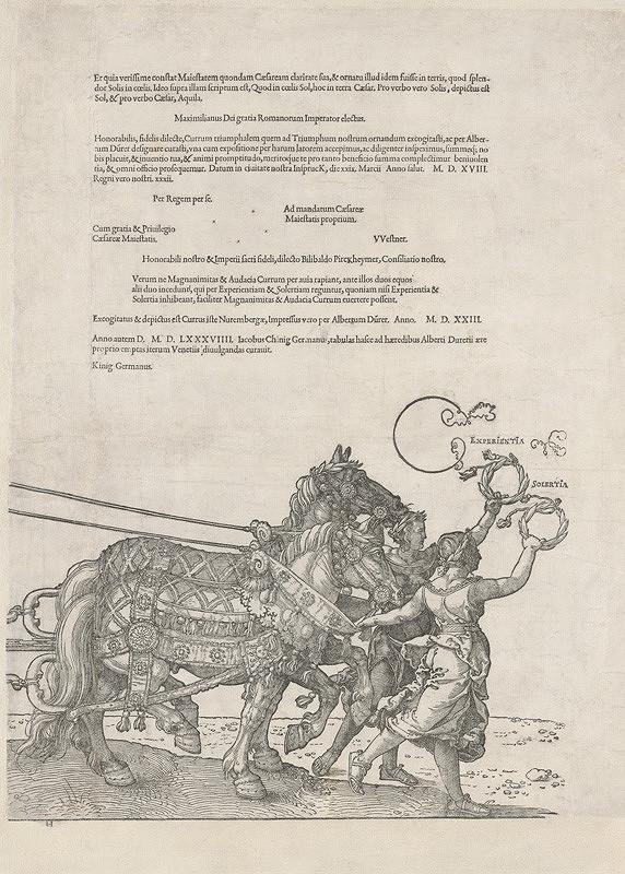 Albrecht Dürer – Skúsenosť a dôvtip - záverečný list