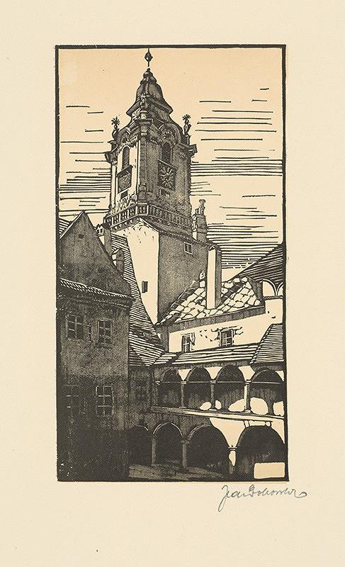 Jaroslav Dobrovolský – Dvor Starej radnice