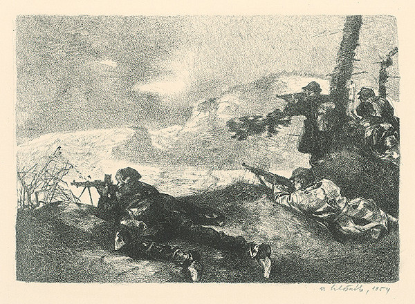 Vincent Hložník – Cez balocké čierne hory ide nepriateľ na nás