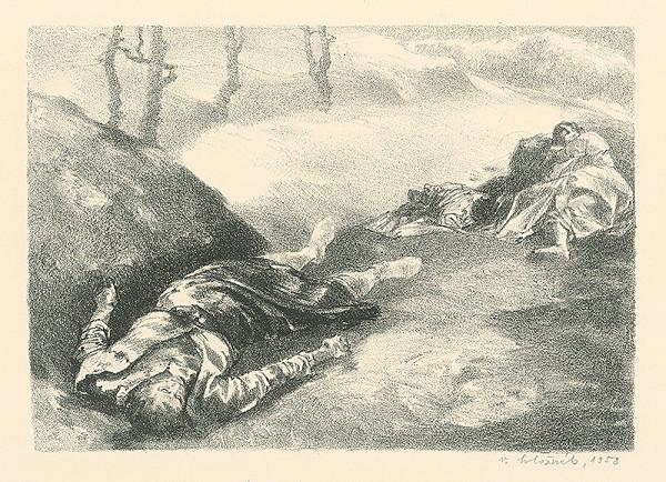 Vincent Hložník – Mŕtva žena