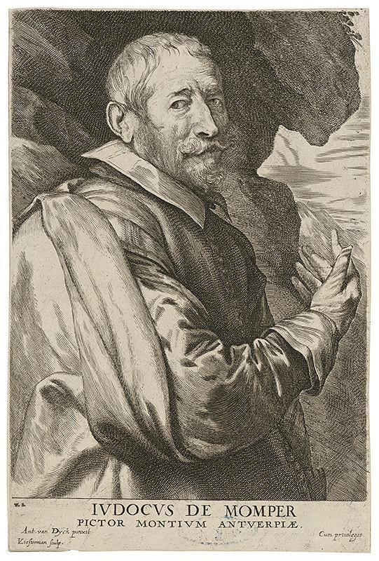 Anthony van Dyck, Lucas Vorsterman – Indocus de Momper