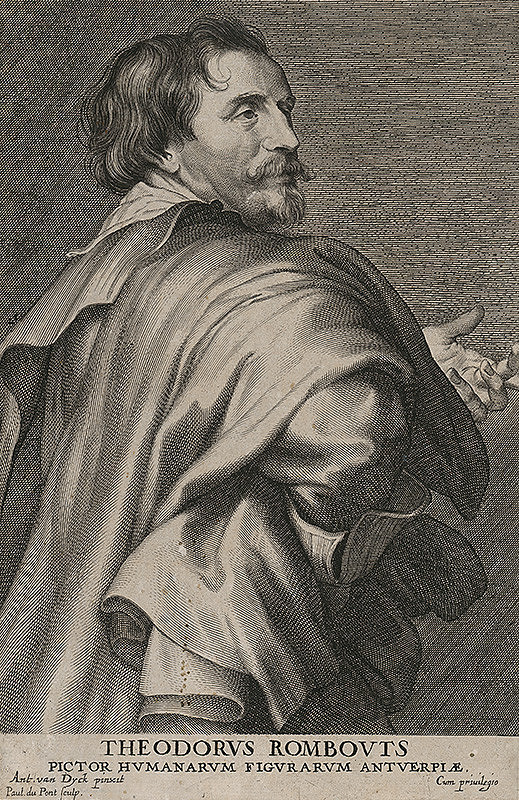 Paul du Pont, Anthony van Dyck - Theodorus Rombouts