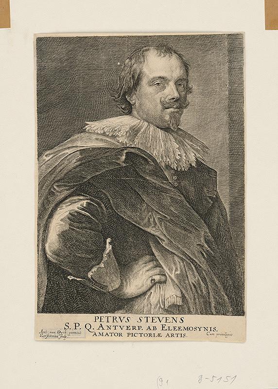Anthony van Dyck, Lucas Vorsterman - Petrus Stevens