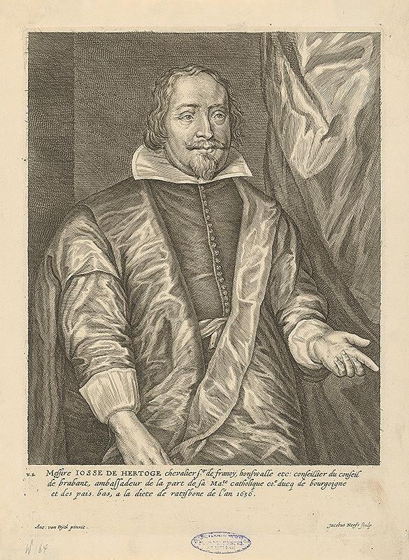 Jacobus Neeffs, Anthony van Dyck - Josse de Herdoge