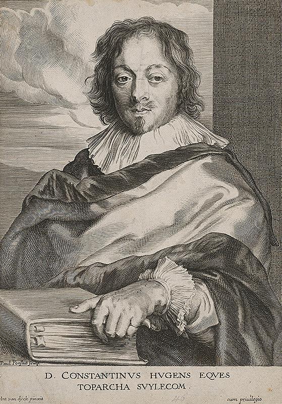 Paulus Pontius, Anthony van Dyck - D.Constantinius Hugens