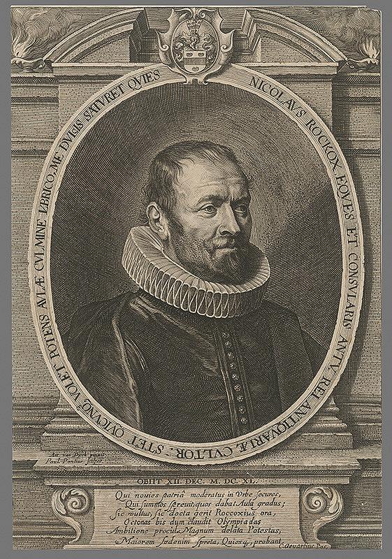 Paulus Pontius, Anthony van Dyck - Nicolaus Rockox