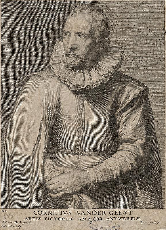 Paulus Pontius, Anthony van Dyck - Cornelius van der Geest
