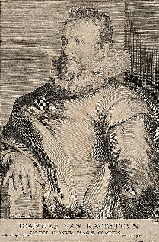 Paulus Pontius, Anthony van Dyck - Johannes van Ravesteyn