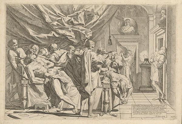 Pietro Testa – Catonova smrť
