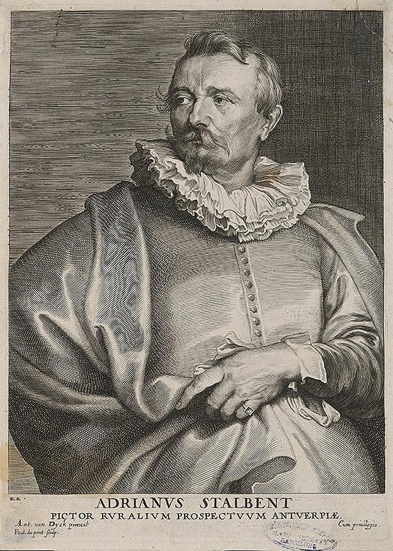 Paulus Pontius, Anthony van Dyck - Adrian Stalbent