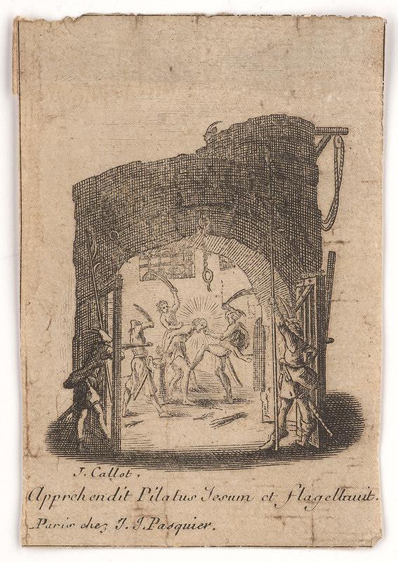 Jacques Callot - Bičovanie vo väzení