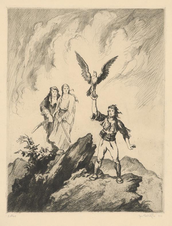 Jaroslav Vodrážka – Alegorická scéna