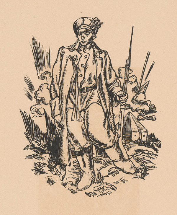 Jaroslav Vodrážka – Legionár