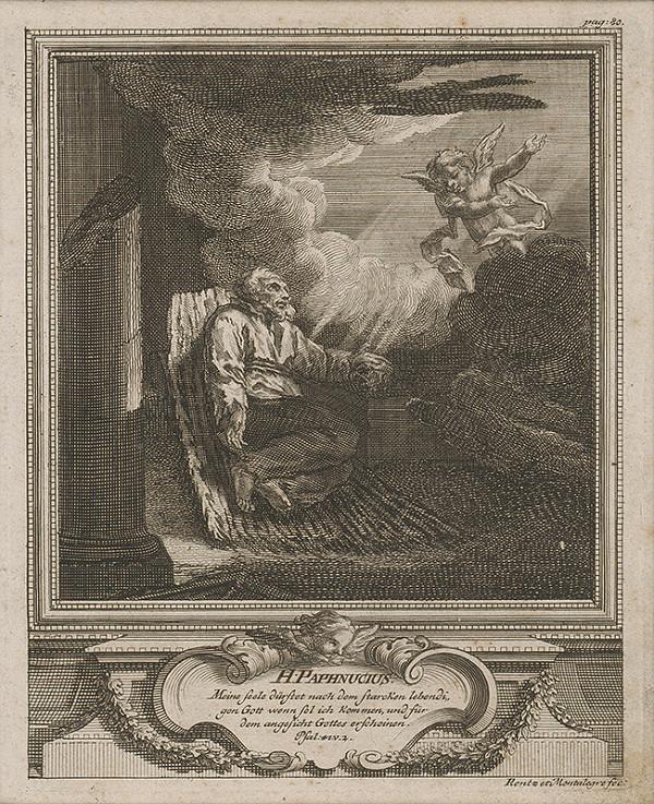 Michael Heinrich Rentz - Sv. Paphnucius