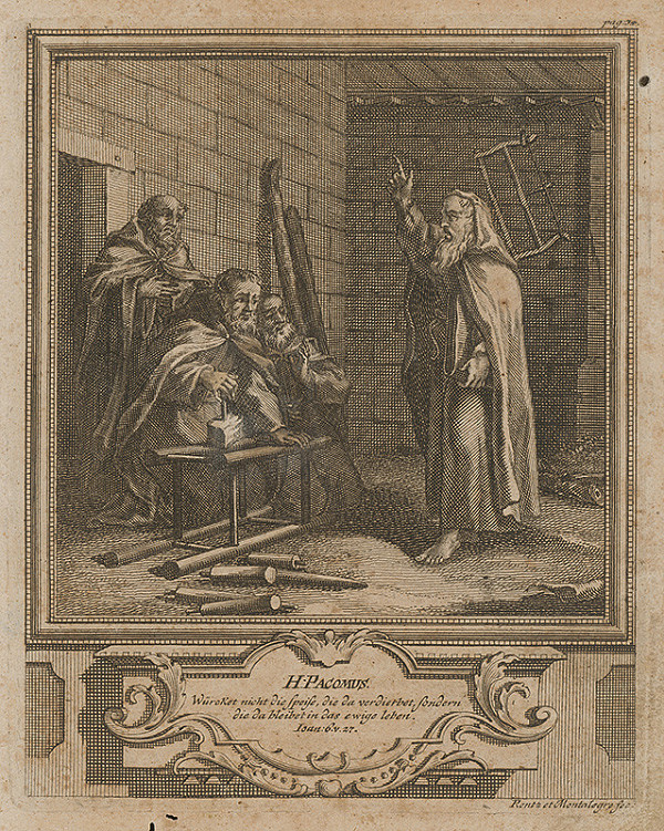 Michael Heinrich Rentz – Sv. Pacomus
