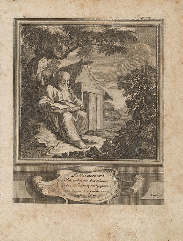 Michael Heinrich Rentz – Sv. Marcianus